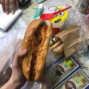 5 cây bánh mì que HP + dừa dầm nhỏ + bánh mì dân tổ