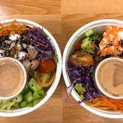 Salad bạch tuột và tôm
