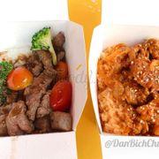 Cơm bò Mỹ và cơm Bò cay Hàn Quốc