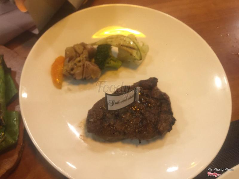 Steak thịt thăn chuột bò size nhỏ
