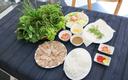 Quán Cuốn - Bánh Tráng Phơi Sương & Thịt Luộc Rau Rừng