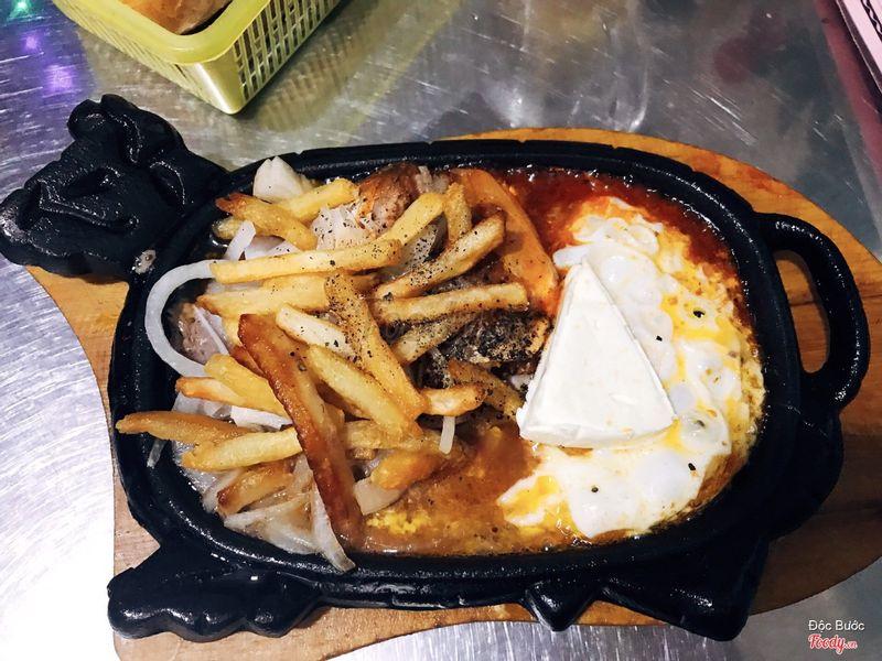 Bò, trứng, cá, phô mai, khoai tây