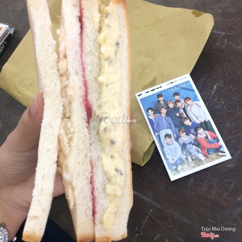 Sandwich SBS Inkigayo - Sandwich Trứng Mayo