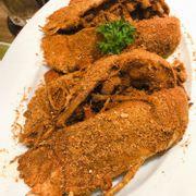 Tôm mũ ni rang muối HK 250k (2 con 450gr) vừa đủ 4 người ăn