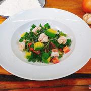 Salad Shrimp with Avocado