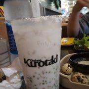 sữa dừa sago