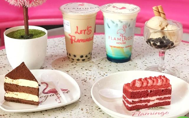 Flamingo House - Coffee & Milk Tea