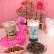 Trà sữa flamingo