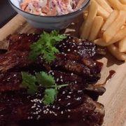 Korean BBQ ribs 😋
