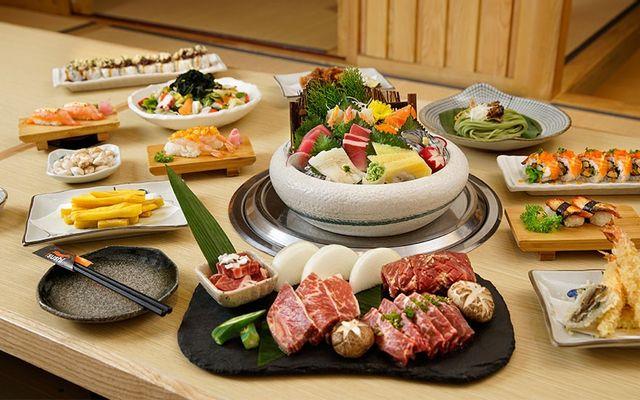 Isushi Thái Hà - Nhà Hàng Buffet Nhật Bản