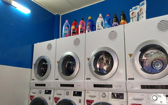 Giặt Sấy Tự Động Xanh - Hoàng Diệu