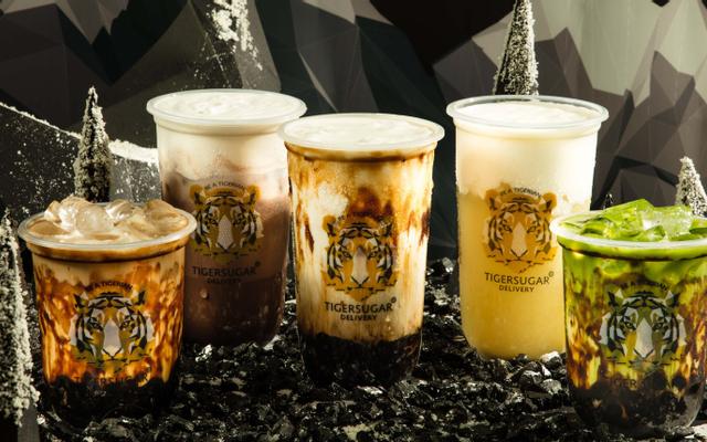 Tiger Sugar Delivery - Đường Nâu Sữa Đài Loan - Thái Phiên