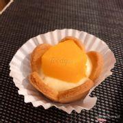 Cheese tart đào