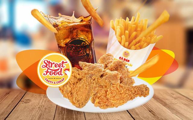 Street Food - Gà Rán Pizza, Hamburger - Thạch Lam