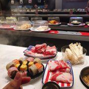 Bò, sushi và nấm ♥️