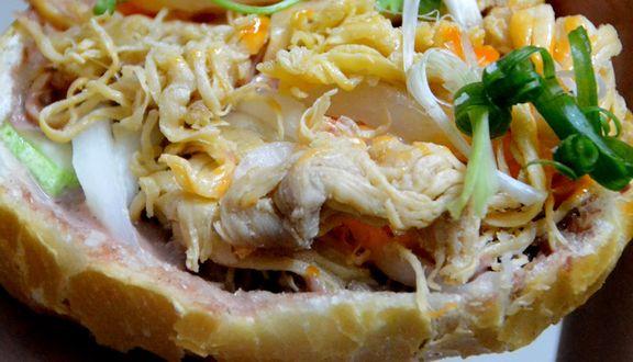 Bánh Mì Cóc - Bánh Mì Gà Xé - 112A Nguyễn Thái Sơn
