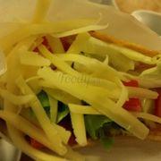 Pho mát trong taco