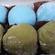 Mochi trà xanh + việt quất