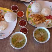 rice chicken ball