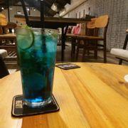 Soda blue ocean  ga nồng 1 tí  thích hợp cho giảm cân