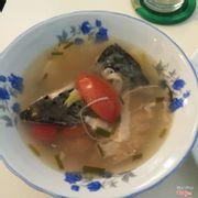Canh chua cá hồi