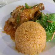 Cơm gà rô ti set lunch