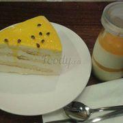 Bánh Chanh Dây Và Panna Cotta