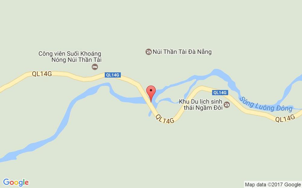 Vị trí bản đồ Du Lịch Sinh Thái Ngầm Đôi ở Đà Nẵng