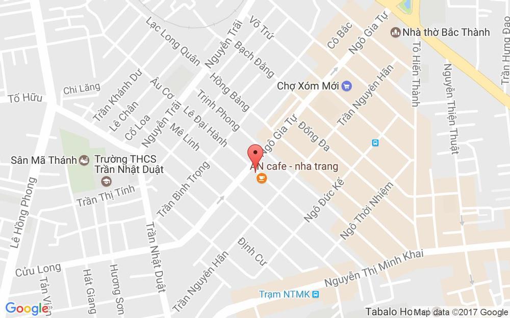Vị trí bản đồ 40 Lê Đại Hành Tp. Nha Trang Khánh Hoà