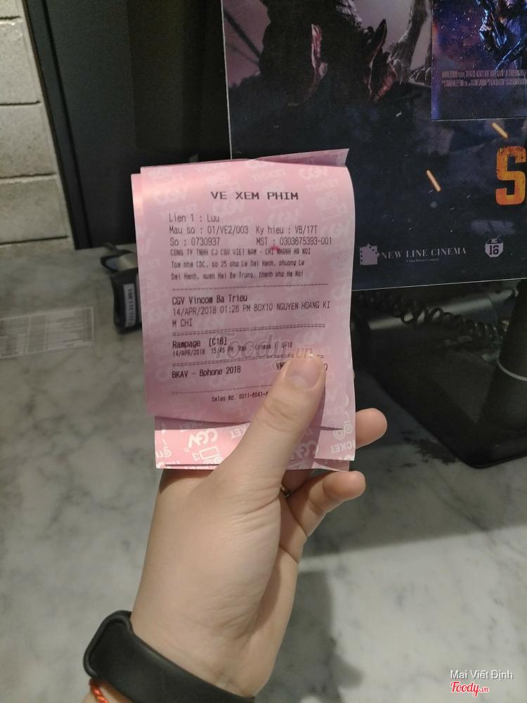 CGV - Vincom Bà Triệu ở Hà Nội