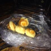 Bánh bông lan trứng núi đồ chiểu. Giá 25k/1hop