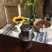 Vẫn là món cà phê quen thuộc. Dường như nó thơm ngon trong cái setting này he!