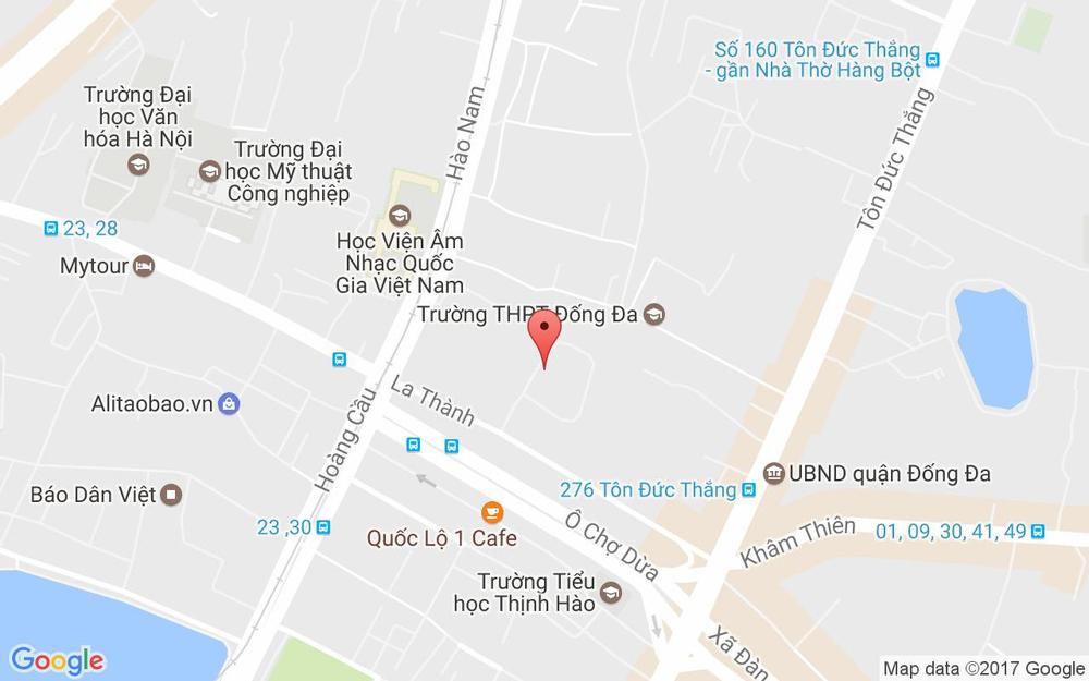 Vị trí bản đồ Tầng 1, GP Invest Building, 170 La Thành Quận Đống Đa Hà Nội