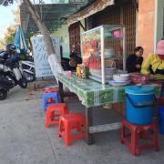 Ngay bến tàu Cam Ranh