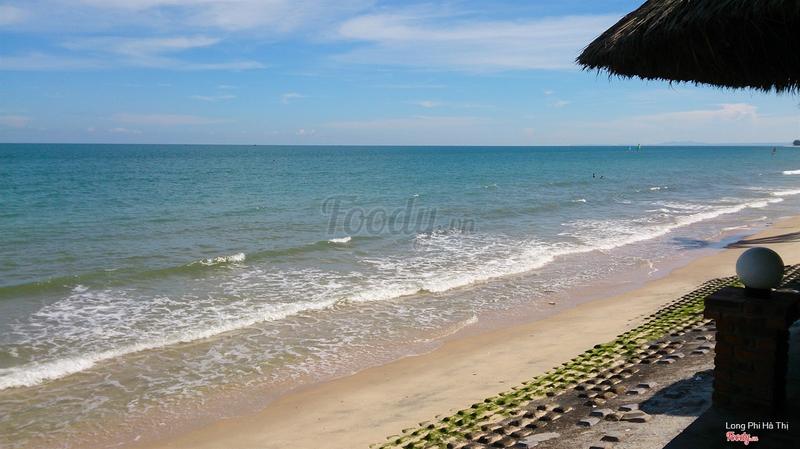 bãi biển buổi chiều