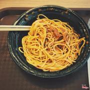 Mì spaghetti bò bầm