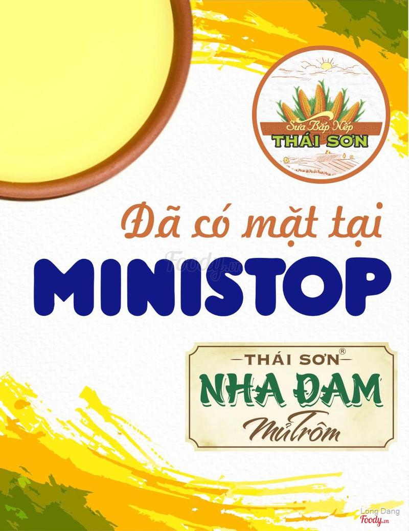 Sữa Bắp Thái Sơn ở MiniStop