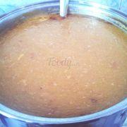 Tương đậu phộng sền sệt, bùi và béo tạo nên sức hấp dẫn cho món ăn.