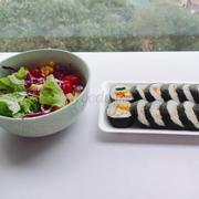 Salad & Kimbab