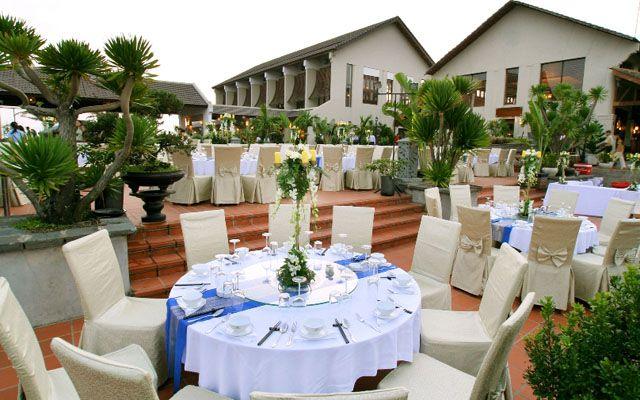 Court Yard - Palm Garden Resort