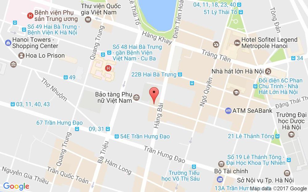 Vị trí bản đồ Lan Viên Hotel - Lý Thường Kiệt ở Hà Nội
