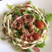 Salad bacon