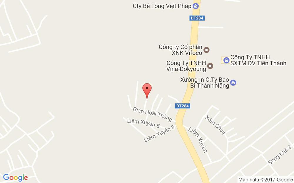 Vị trí bản đồ 132 Liêm Xuyên, Song Khê Tp. Bắc Giang Bắc Giang