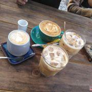 Thêm cafe dừa và cacao đá