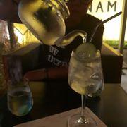 Gin and tea
