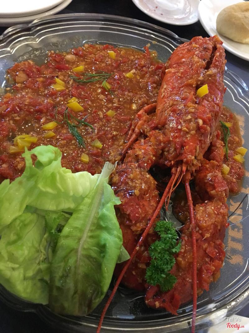 Singaporean chili lobster (alaska)