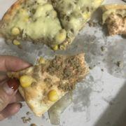 Đặt pizza bò nhưng khi ăn nhân lại như thịt lợn băm. Nói chung tiền nào thì của đấy. Ko có chuyện ngon bổ rẻ đâu ae ạ :))