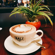 Capuchino of bali coffee
