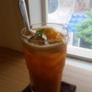 Peach up (Trà đào, caramel)