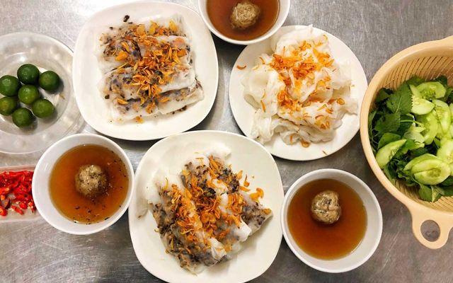 Bánh Cuốn Tráng Tay - Lê Hồng Phong